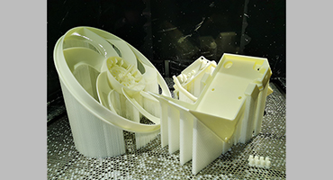 Post processing of SLA 3D printing