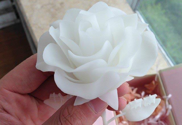 Old craftsman lost, the artificial flower factory uses Jinshi high-resolution 3D printer to continue the glory