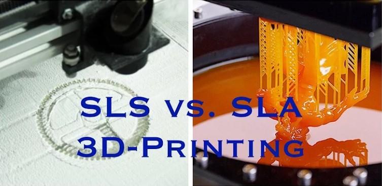 SLA 3D Printer vs SLS 3D Printer