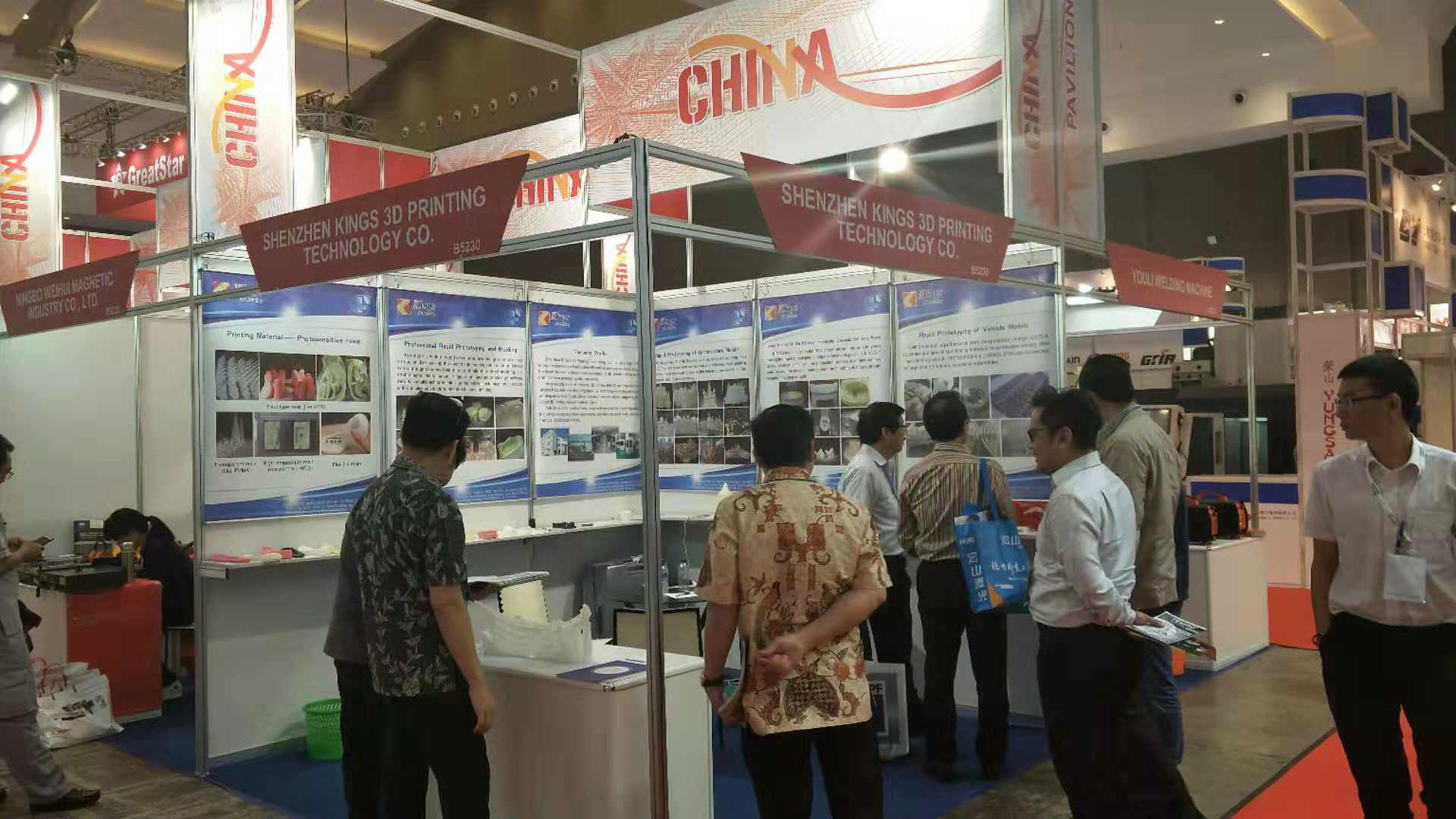 Kings SLA 3D Printer Won a Favorable Reception at Manufacturing Indonesia 2018
