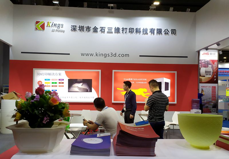 Guangzhou Ceramics Industry Exhibition, why Kings sla resin 3d printer makes viewers crazy