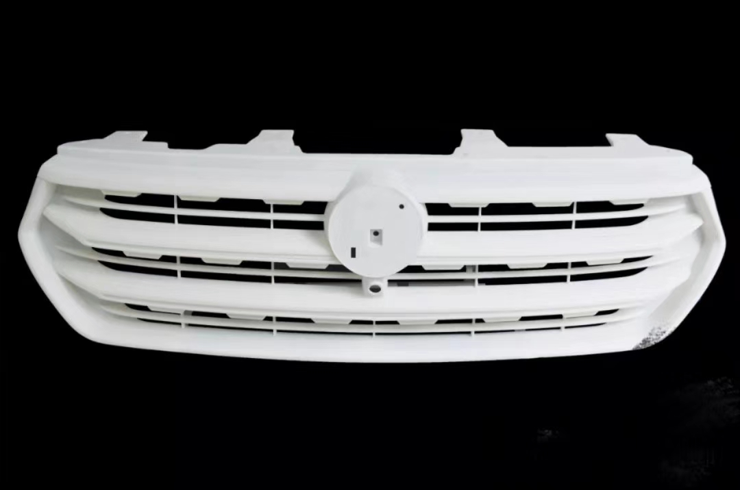 White resin 3d printing car grille prototype