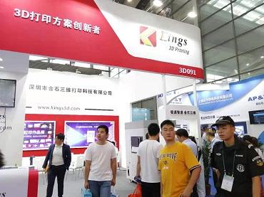 Kings 3D SLA 3D Printers Enjoys High Popularity in Global Exhibitions in November 2019