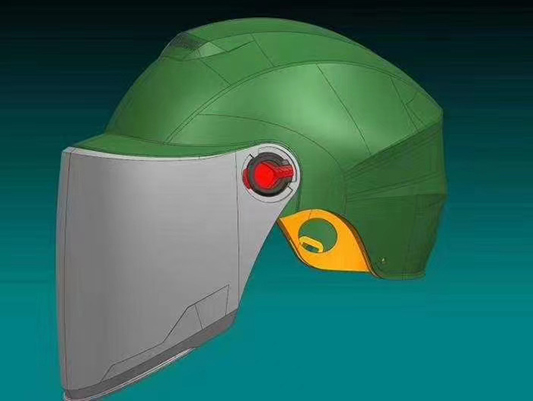 Application of 3D Printing Helmet Technology in Production