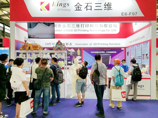 Kings 3D Meets with Old and New Customers in TCT Shanghai