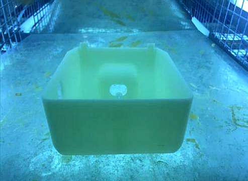 Post processing of SLA 3D printing