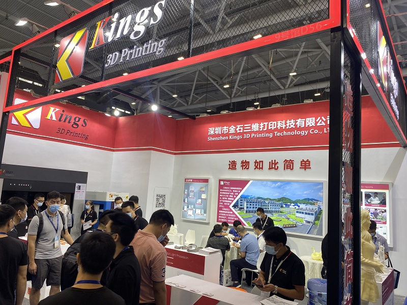 KINGS booth gained great popularity