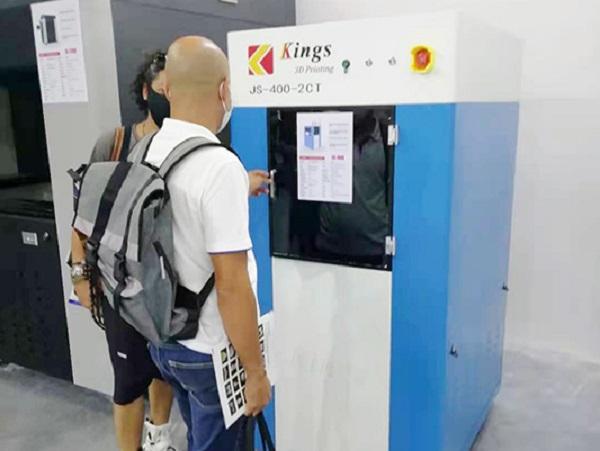 The latest dental SLA 3D printer: KINGS400PRO