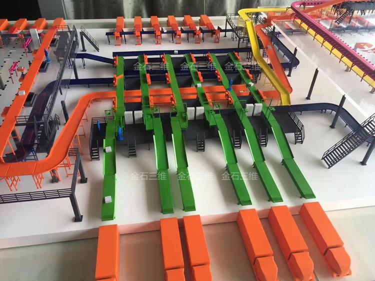 Kings 3d printer making factory building models in just one week