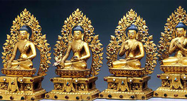 Pengchang 3D Printing Company uses Kings stereolithography 3D printer to make Buddha models to get temple praise