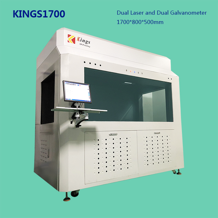 Kings 1700 Large-Size High-Speed 3D Printer for Automobile Modeling