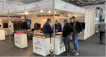 Kings 3D Attends the 63thAYSAF Footwear Exhibition in Istanbul Expo Center