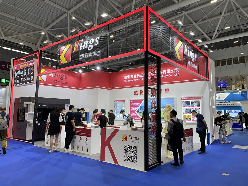 The Virgin Show of KINGS 400PRO SLA Dental 3D Printer in Formnext+PM South China 2021